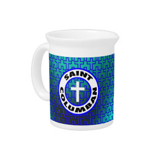 Saint Columban Beverage Pitchers