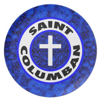 Saint Columban Dinner Plate
