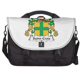 Saint-Croix Family Crest Laptop Computer Bag