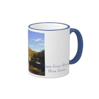 Saint Croix; Nova Scotia Ringer Coffee Mug