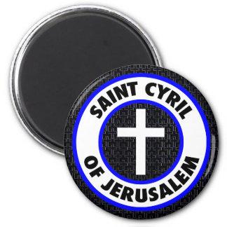 Saint Cyril of Jerusalem Magnet