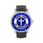 Saint Cyril of Jerusalem Wristwatch