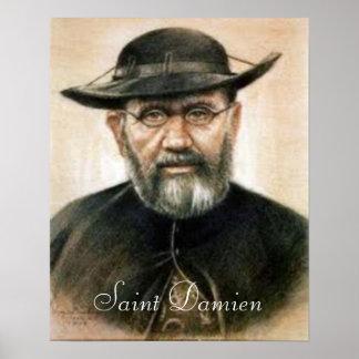 Saint Damien print