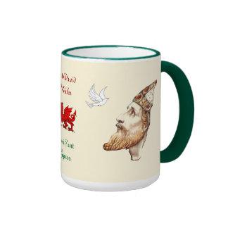 Saint David Ringer Mug