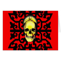 artsprojekt, skull, pattern, gothic, halloween, east germanic, Nuevo Laredo, east germanic language, Tamaulipas, human death, veneration, wrongful death, Catholic Church, Mexico, allhallows eve, syncretism, patron saint, Mesoamerica, gestalt, pre-Columbian era, fatality, Day of the Dead, expiration, Roman Catholicism in Mexico, modification, scythe, expiry, globe, strand, Mexico City, martyrdom, Mexican American, alteration, decease, divinity, hallowe'en, departure, immortal, release, Card with custom graphic design