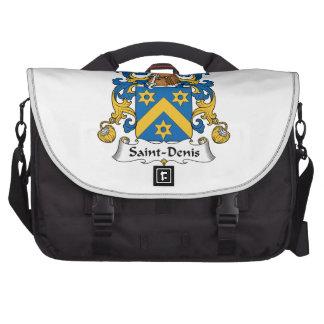 Saint-Denis Family Crest Laptop Computer Bag