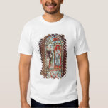 Saint Denis gives the oriflamme to Clement Tshirts