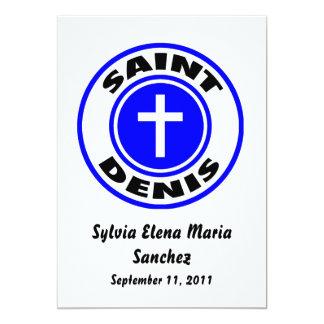 Saint Denis Invite