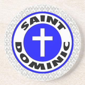 Saint Dominic Drink Coasters