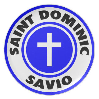 Saint Dominic Savio Melamine Plate