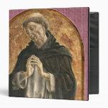 Saint Dominic (tempera on panel) 3 Ring Binder