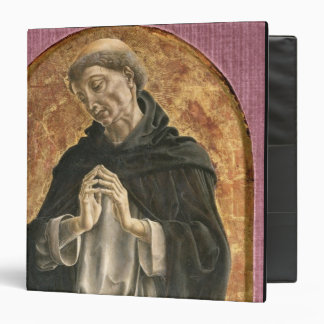 Saint Dominic (tempera on panel) 3 Ring Binder