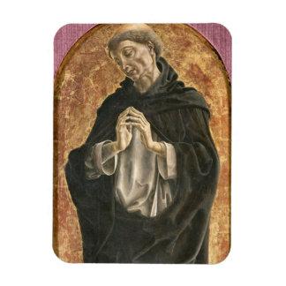 Saint Dominic (tempera on panel) Magnet