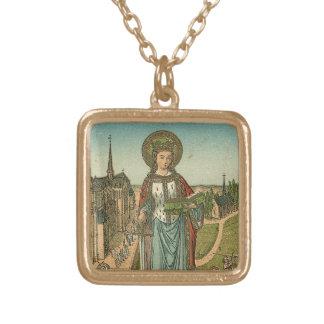 Saint Dymphna Necklace