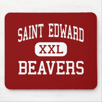 Saint Edward - Beavers - High - Saint Edward Mouse Pad