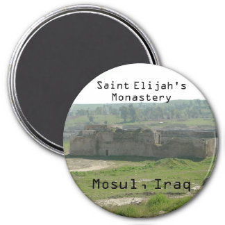 SAINT ELIJAH'S MONASTERY MOSUL, IRAQ FRIDGE MAGNETS