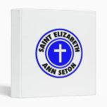 Saint Elizabeth Ann Seton 3 Ring Binders