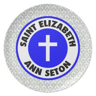 Saint Elizabeth Ann Seton Plate