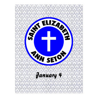 Saint Elizabeth Ann Seton Postcard