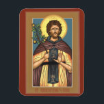 "Saint Euphrosynos the Cook magnet<br><div class=""desc"">Saint Euphrosynos the cook kitchen magnet</div>"