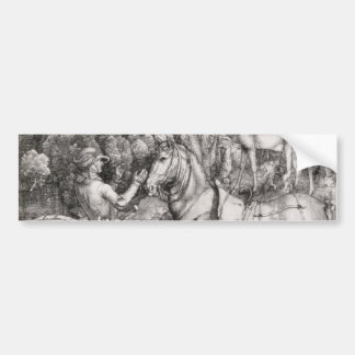 Saint Eustace by Albrecht Durer Bumper Sticker