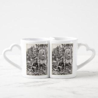 Saint Eustace by Albrecht Durer Couples Coffee Mug