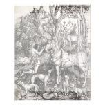 Saint Eustace by Albrecht Durer Custom Flyer