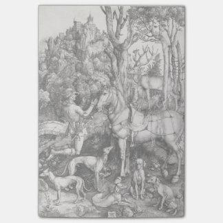 Saint Eustace by Albrecht Durer Post-it® Notes