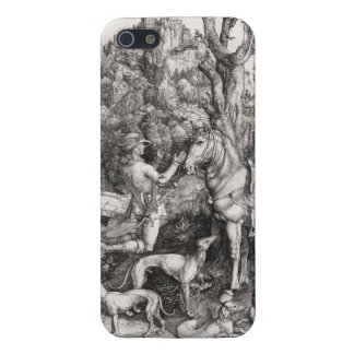 Saint Eustace Engraving by Albrecht Durer iPhone 5 Cases