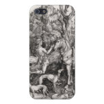 Saint Eustace Engraving by Albrecht Durer iPhone 5/5S Case