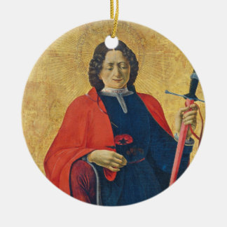 Saint Florian, Italian, c. 1473-74 Ceramic Ornament