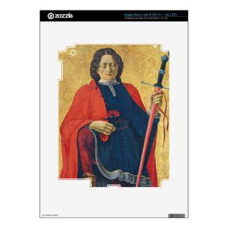 Saint Florian, Italian, c. 1473-74 Skins For iPad 3