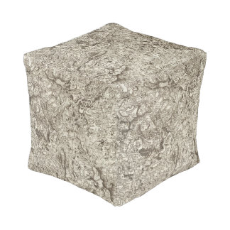 Saint Flour Cube Pouf