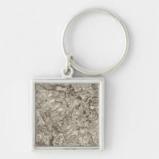 Saint Flour Key Chains