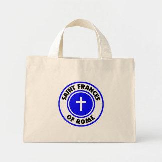 Saint Frances of Rome Canvas Bags