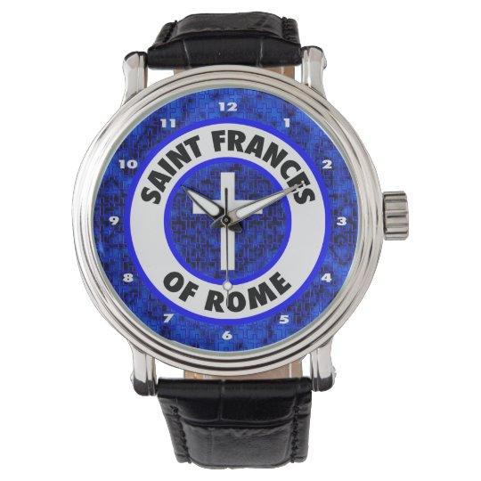 Saint Frances of Rome Wrist Watch