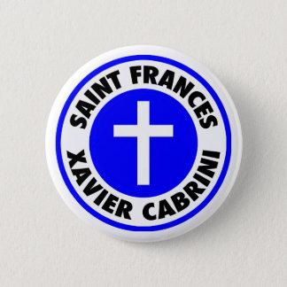 Saint Frances Xavier Cabrini Button