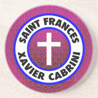 Saint Frances Xavier Cabrini Drink Coaster