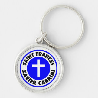 Saint Frances Xavier Cabrini Keychain