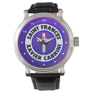 Saint Frances Xavier Cabrini Wrist Watch