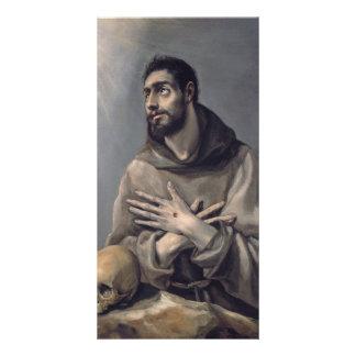 Saint Francis by El Greco Card