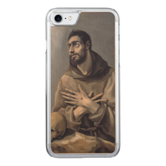 Saint Francis by El Greco Carved iPhone 7 Case