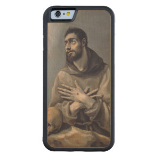 Saint Francis by El Greco Carved Maple iPhone 6 Bumper Case
