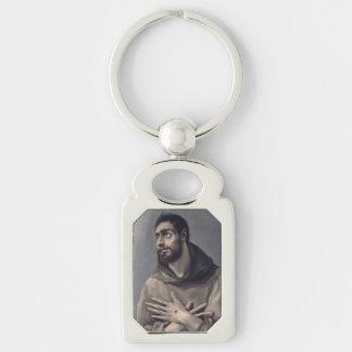 Saint Francis by El Greco Keychains