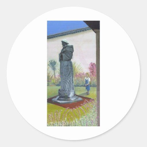 Saint Francis Classic Round Sticker