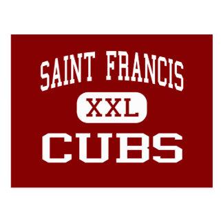 Saint Francis - Cubs - Middle - Palo Cedro Postcard