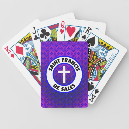 Saint Francis De Sales Bicycle Playing Cards