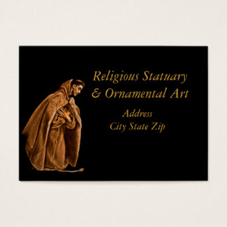 Saint Francis in Shadow Business Card