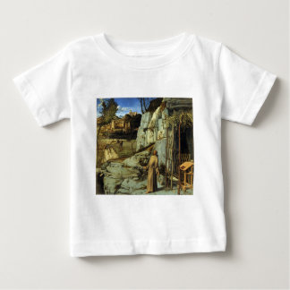 Saint Francis in the Desert by Giovanni Bellini Baby T-Shirt