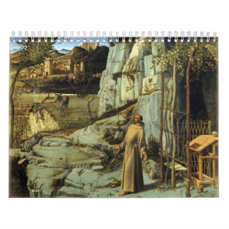 Saint Francis in the Desert by Giovanni Bellini Calendars